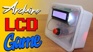 diy arduino lcd game | stick mario game