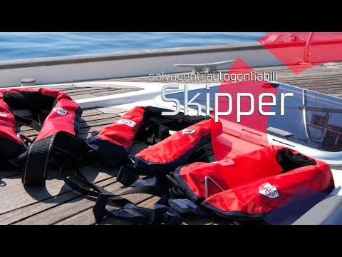 Salvagenti autogonfiabili Skipper 150N -Magellanostore it