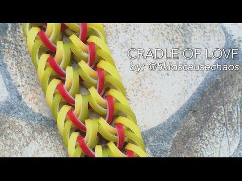 CRADLE OF LOVE Hook Only bracelet tutorial