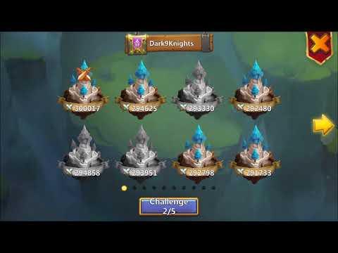 POCAY's Guild Wars RUNS Againts TOP Bases In D9K IOS Castle Clash