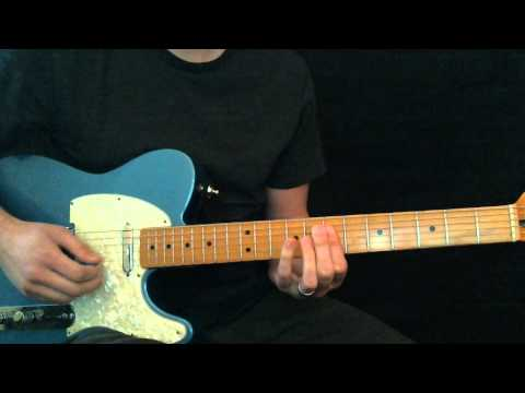 Broken Vessels Hillsong Lead Guitar Tutorial