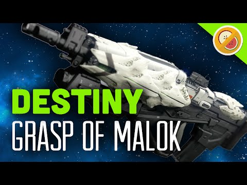 DESTINY Grasp of Malok Legendary Pulse Rifle Review (The Taken King)