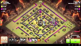 Clash of Clans - TH9 - GoWiPe - War 63 vs Russia Team - BEN vs #2