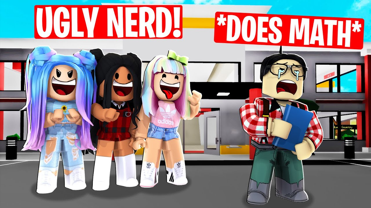 I EXPOSED Popular girls BULLYING NERD in Roblox Brookhaven RP