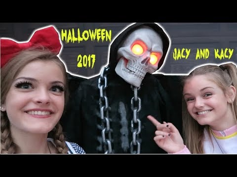 Thumbnail: Halloween 2017 ~ Get Ready With Me & Trick or Treating ~ Jacy and Kacy