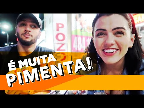PROVANDO COMIDA MEXICANA ft. Lucas Lira   Sunaika Bruna