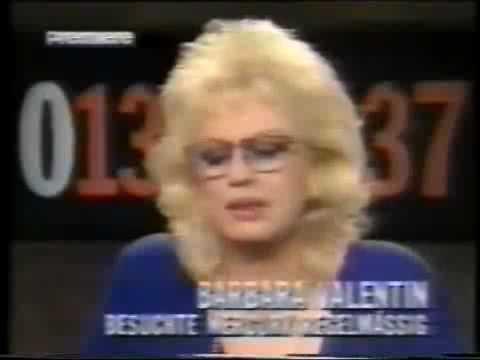 Barbara Valentin - Interview 0137-Show - 11/29/91