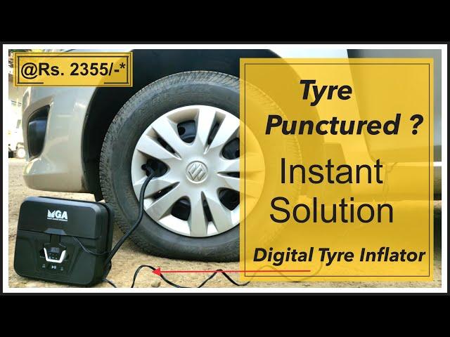 Tyre Puncture? Portable Air Inflator - Maruti Suzuki Accessories