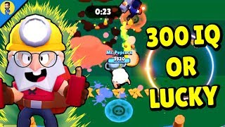 300 iQ o LUCKY de DYNAMIKE | Reaccionando a FUNNY MOMENTS, FAILS, GLITCHES de BRAWL STARS