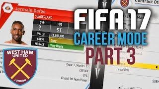 Video FIFA 17 Career Mode Gameplay Walkthrough Part 3 - TRANSFER WINDOW SPECIAL (West Ham) download MP3, 3GP, MP4, WEBM, AVI, FLV Desember 2017