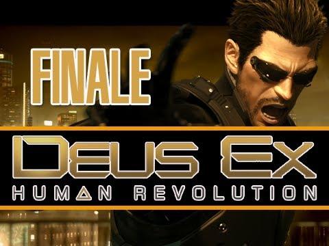 Deus Ex: Human Revolution: Walkthrough Let's Play SERIES FINALE [ENDING] (Gameplay & Commentary)