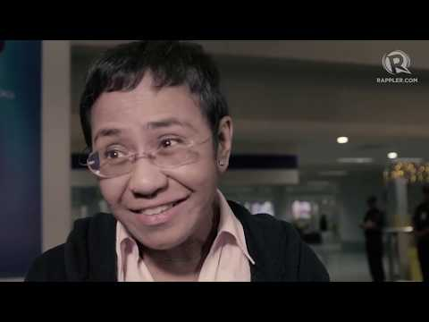 Maria Ressa arrives in Manila amid arrest fears