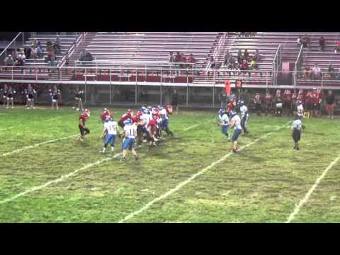 Logan Middle David Early returns Int. for TD