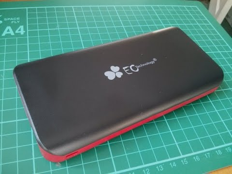Review: EC Technology 22,400mAh USB Mobile Power Bank