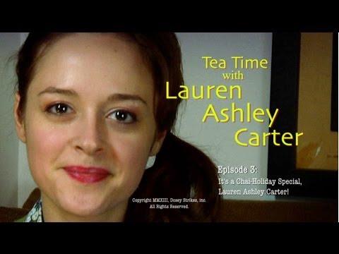 Tea Time with Lauren Ashley Carter -- Episode 3