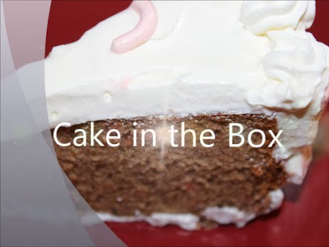 : cake in the box - Aboutintivar.Com