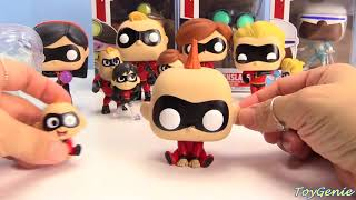 Untractions 2 Film Funko Pop Limited Edition Chaser Unsichtbar Violett Baby Jack Jack