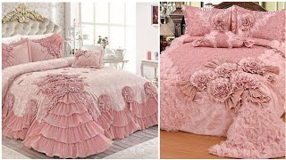 Most  beautiful expensive inspired wedding bridal bed sheets designs