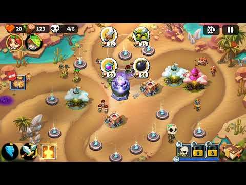 Hero Defense King - Stage 33 - Normal 3 Gems  