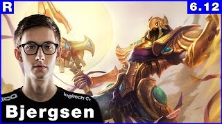 159 tsm bjergsen azir vs shen top june 21th 2016 season 6 patch 6 12