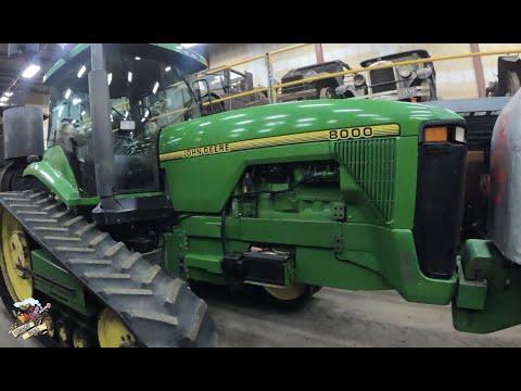 Unique Farm Equipment Finds In Western Canada - John Deere 8000