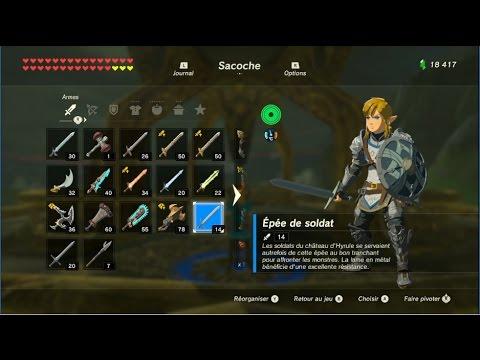 The Legend Of Zelda Botw  Emplacement Des Armes Gerudo