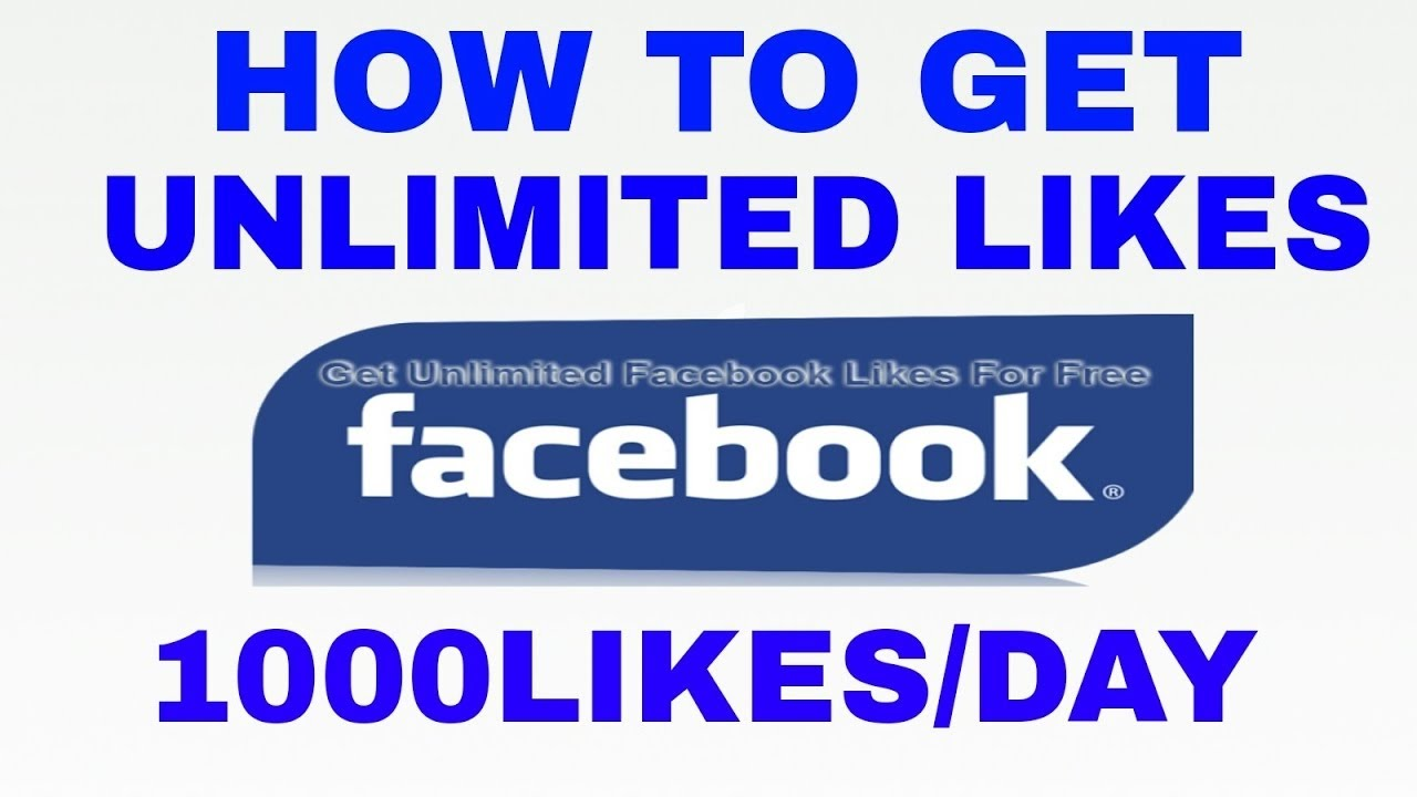 How to get unlimited likes on facebook profile pic 2018 latest trick