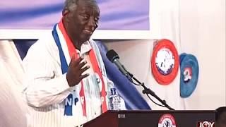 Former Kuffour addresses NPP delegates