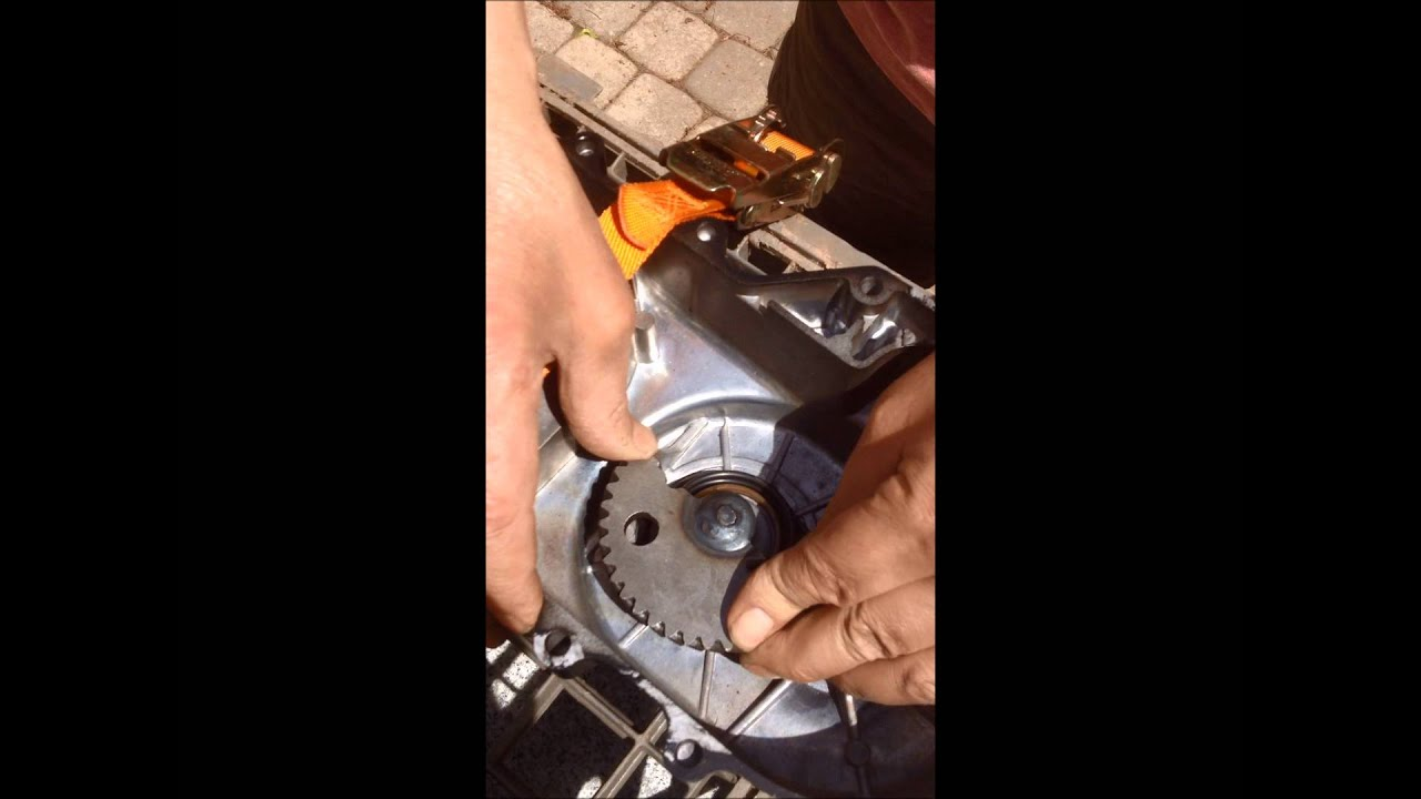how to put together a chinese scooter\'s 49cc gy6 kick start ...