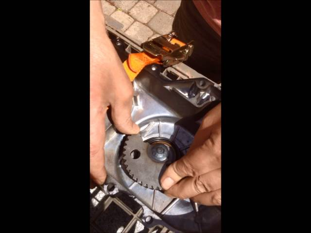 how to put together a chinese scooter's 49cc gy6 kick start assembly