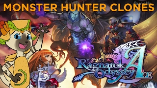 Monster Hunter Clones - Ragnarok Odyssey Ace Review