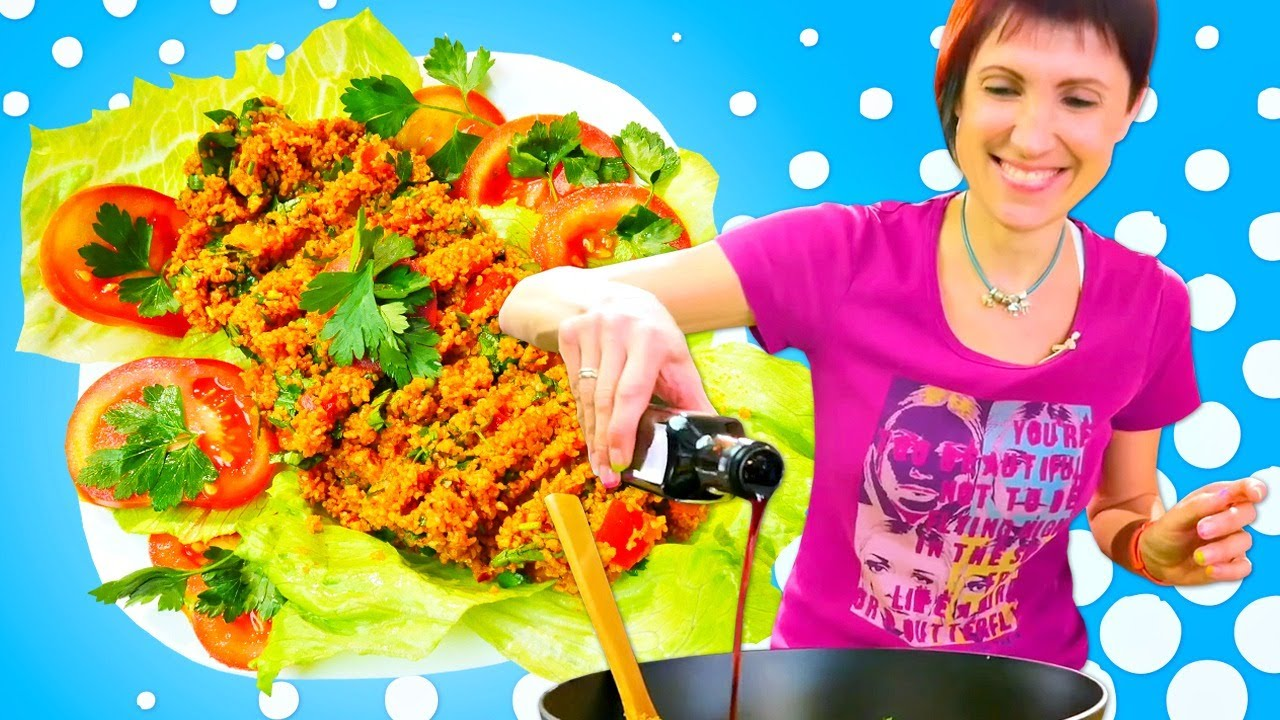 Рецепт салата Кысыр - турецкая кухня. Влог Маши Капуки