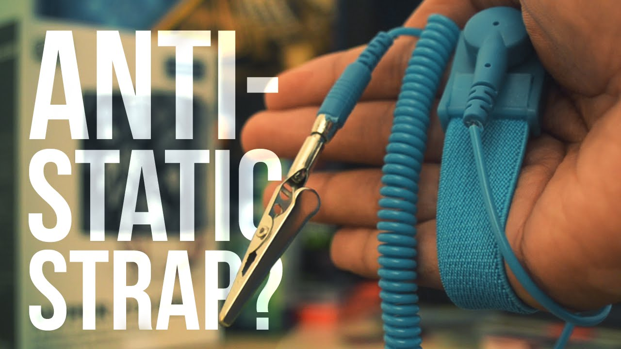 How to use an Anti Static Wrist Strap / Wristband a k a