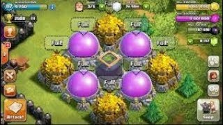 Clash of Clans how to fill storage easy and fast.