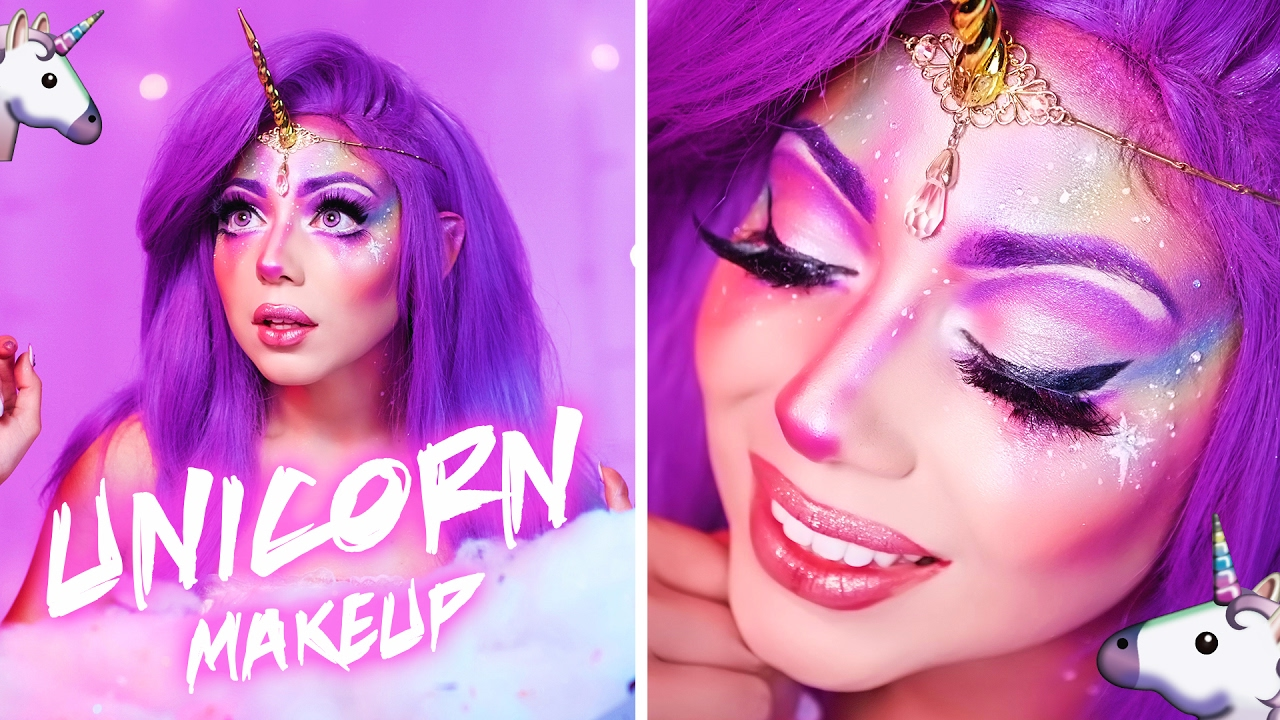 UNICORN Makeup Look Charisma Star YouTube