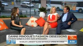 Dannii Minogue - Morning Show interview on fashion, X Factor