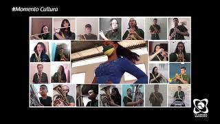 Momento Cultura - Hino da Independência com Projeto Musicalizando
