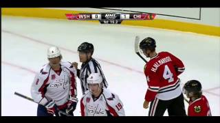 Alex Ovechkin check to the head on Hjalmarsson 11 07 14