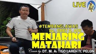 Download Mp3 MENJARING MATAHARI by ebiet g Cover Dt M A Tigo Lareh ft Pelon