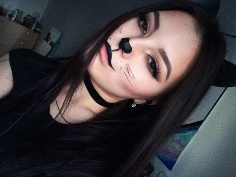 Макияж кошки на хэллоуин | Halloween Cat Makeup