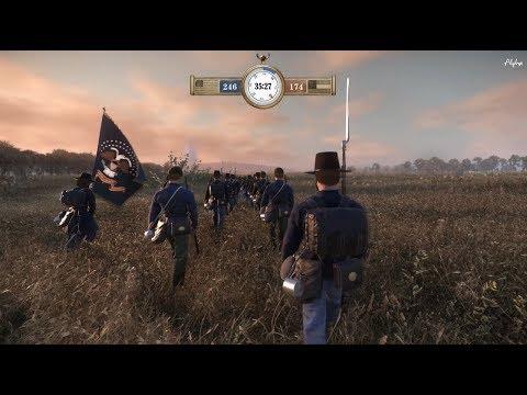 War of Rights -32 vs 32 Community Line Battle Event- The Pandemonium of Battle at Miller's Cornfield