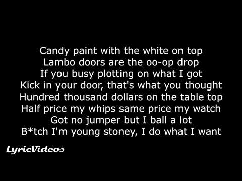 Post Malone - Candy Paint (Lyrics / Lyric Video)