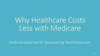 Why Healthcare Costs Less with Medicare