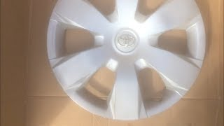 How to spray paint hubcaps!