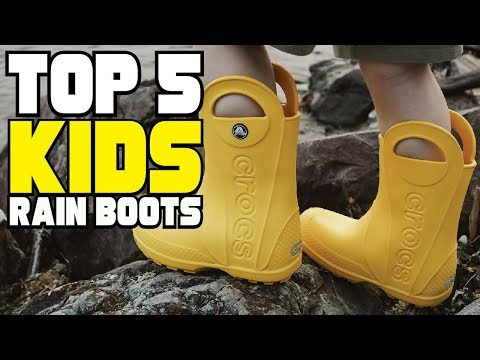 Best Rain Boots for Kids And Toddler Review in 2020   Best Budget Rain Boots for Kids And Toddler