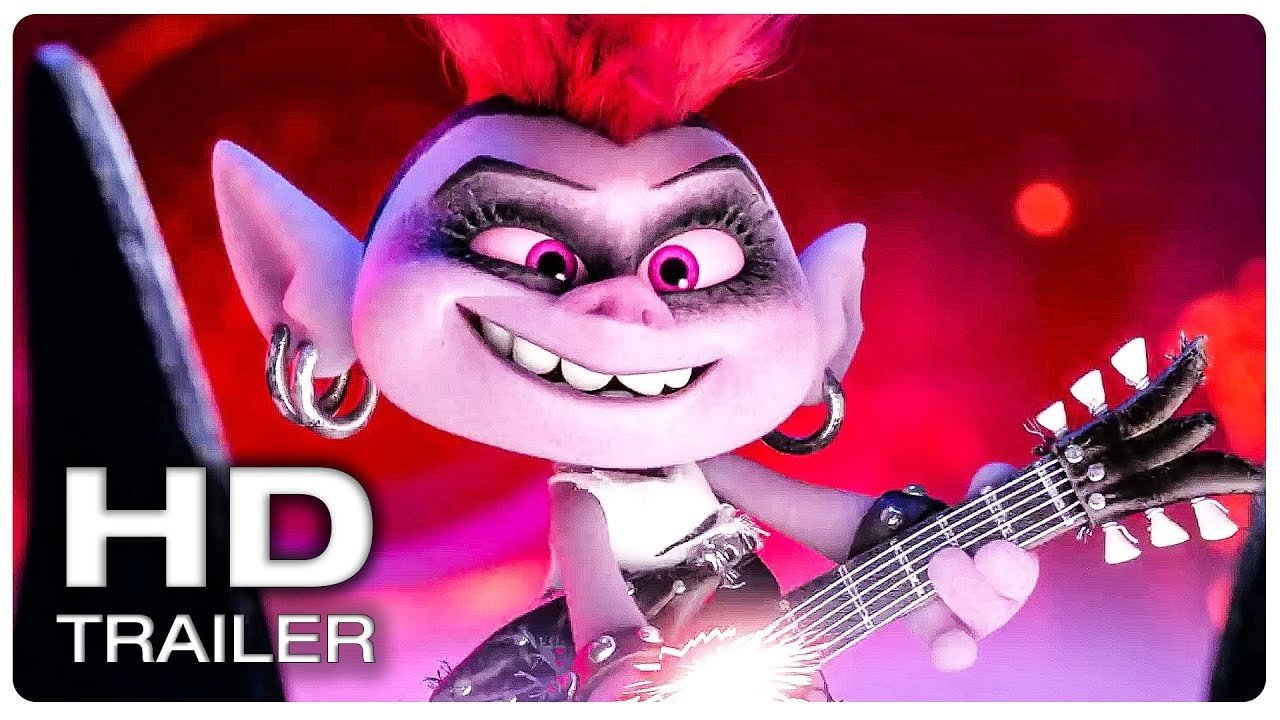 Trolls 2 World Tour Trailer 1 Official New 2020 Animated Movie