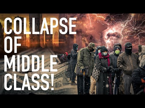 Total Collapse Of Middle Class: American Living Cost Soar 400% But Wages Only Increase By 29%