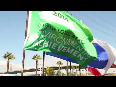Port of Long Beach Green Port Gateway Rail Project Completed