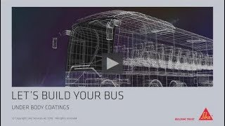 Sika Underbody Coating Solutions for Bus and Coach
