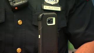 With high body camera costs, New Jersey officers test cell phones